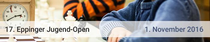 17. Eppingen Jugend-Open (1. November, Eppingen)